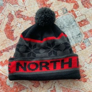 North Face winter hat